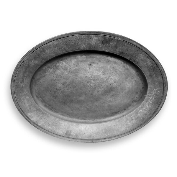 Avola Pewter Oval Melamine Platter by Mint Pantry