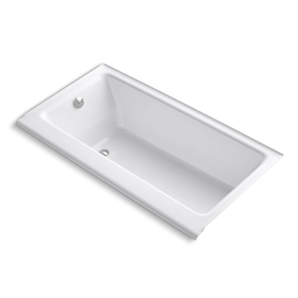 Highbridge Alcove 60 x 32 Soaking Bathtub by Kohler