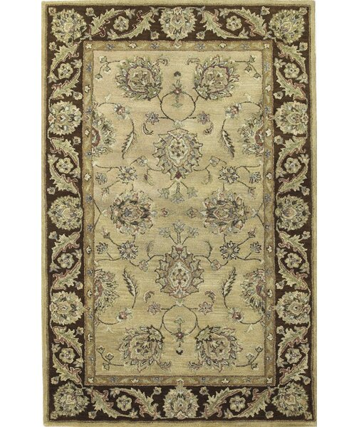 Storrs Sand/Mocha Agra Rug by Darby Home Co