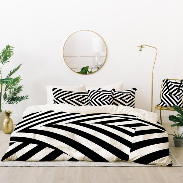 Three of the Possessed Duvet Set by East Urban Home