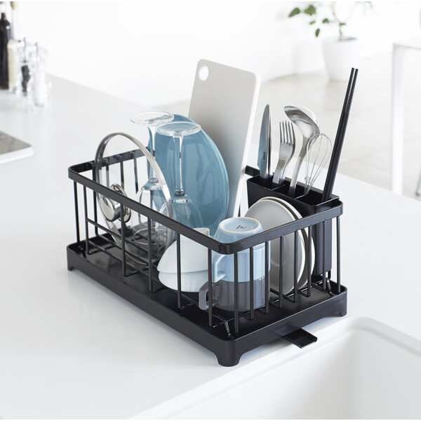 Espinal Wire Dish Drainer Rack by Rebrilliant