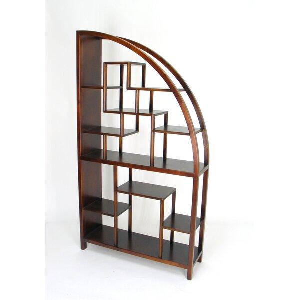 Adames Geometric Bookcase by Bloomsbury Market