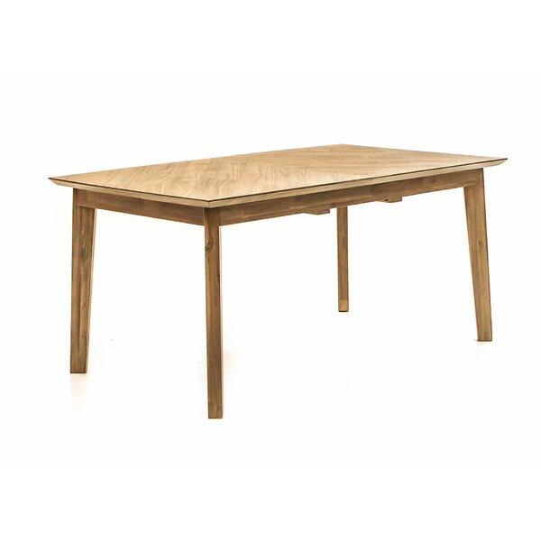 Felice Extendable Solid Wood Dining Table by Brayden Studio Brayden Studio