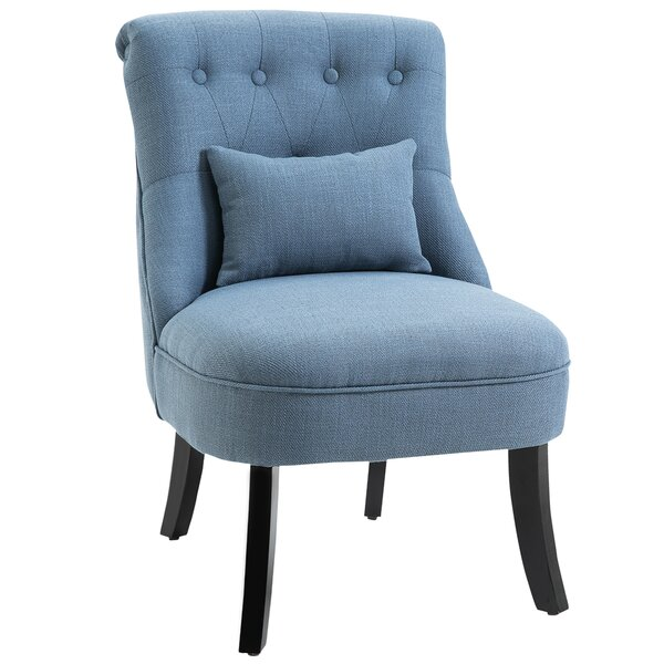 Winter Upholstered Fabric Side Chair by Red Barrel Studio Red Barrel Studio®