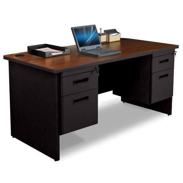 Pronto Box / File Double Pedestal Computer Desk by Marvel Office Furniture
