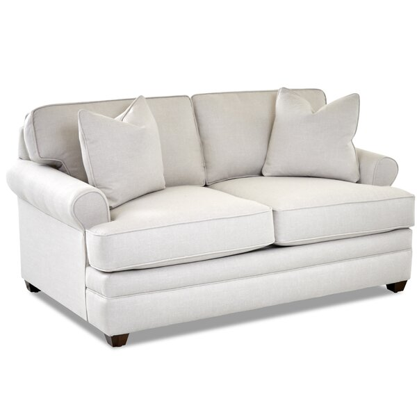 Review Living Your Way Rolled Arm Loveseat