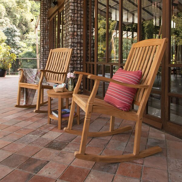 Doerr 3 Piece Teak Seating Group by Bay Isle Home