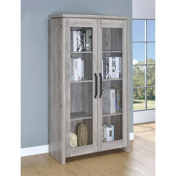Paschke Wooden Curio Cabinet by Union Rustic