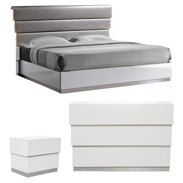 Langridge Platform Configurable Bedroom Set by Wade Logan