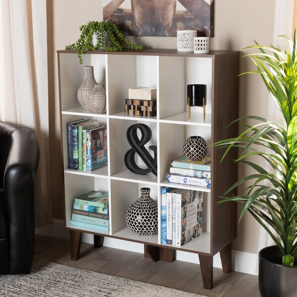 Higgston Wood Cube Bookcase By George Oliver