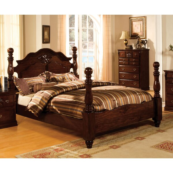 Edyth Four Poster Bed by Darby Home Co