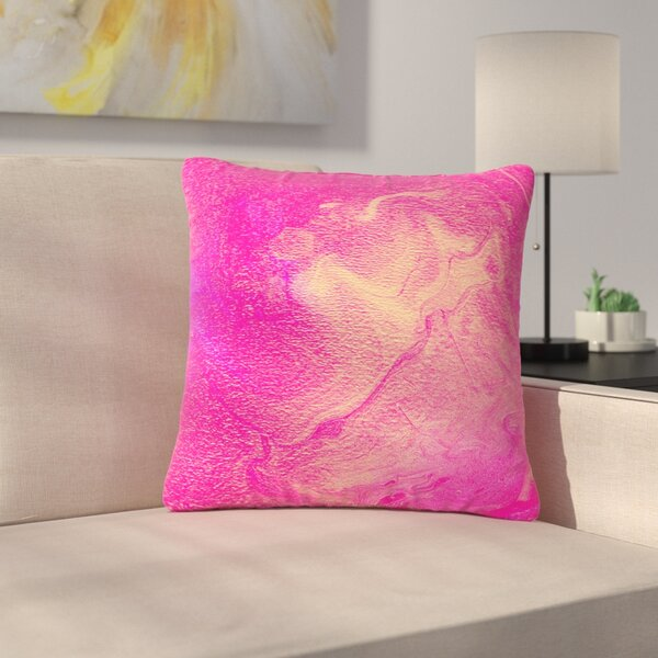 Ashley Rice AC1 Watercolor Outdoor Throw Pillow by East Urban Home