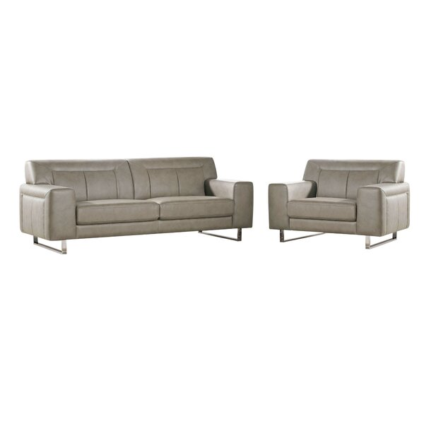 Vera 2 Piece Living Room Set by Diamond Sofa