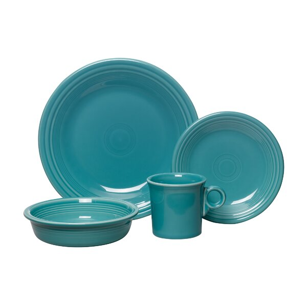 Fiesta 4 Piece Place Setting Set, Service for 1 by Fiesta