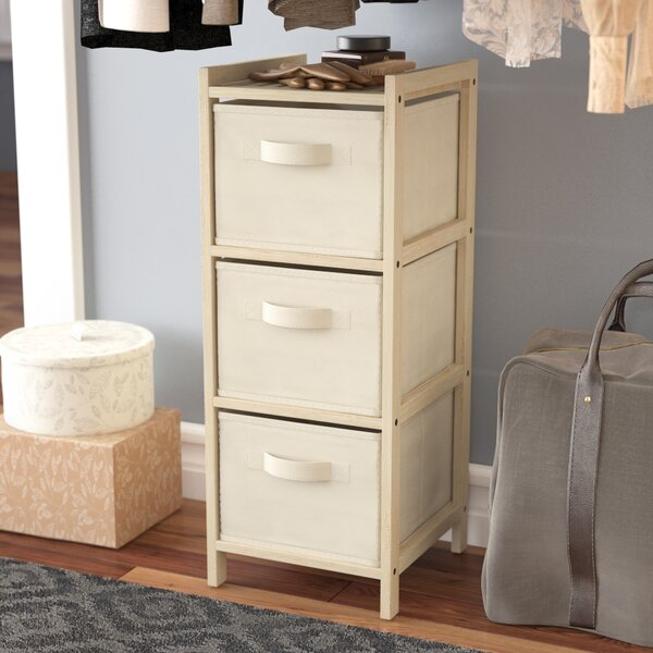 Palma Wood 3 Drawer Lingerie Chest by Rebrilliant