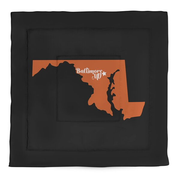 Baltimore Single Reversible Comforter