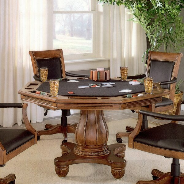 Strawn Poker Table By Darby Home Co