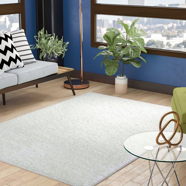 Fick Ivory Area Rug by Ebern Designs