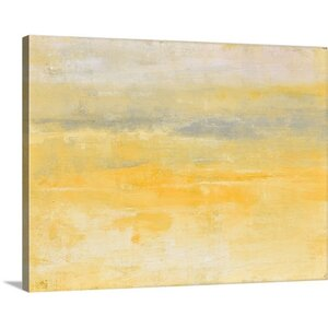'Sunday Morning' Graphic Art on Canvas by Mercury Row