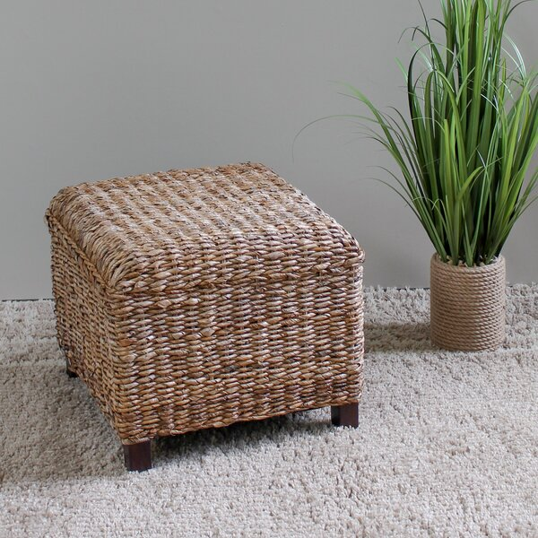 Duck Cube Ottoman by Highland Dunes