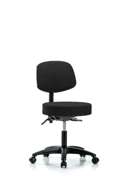 Zoe Height Adjustable Lab Stool by Symple Stuff