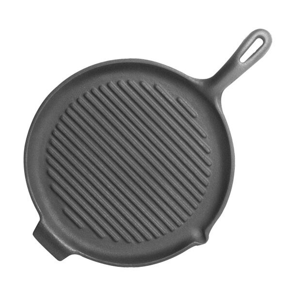 Pre-Seasoned 10 Grill Pan and Griddle by Starcraft