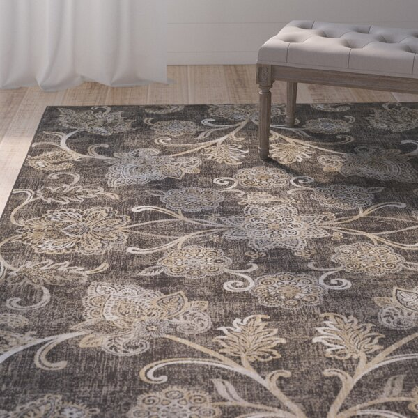 Blue Hill Brown Area Rug by One Allium Way