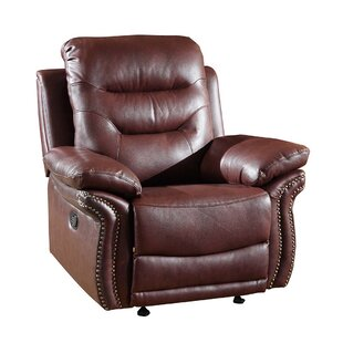 Trower Living Room Manual Recliner Red Barrel Studio