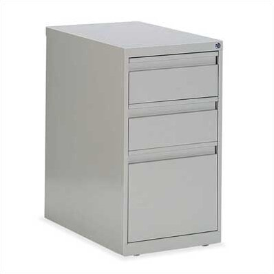 G Series 3-Drawer File Pedestal by Global Total Office