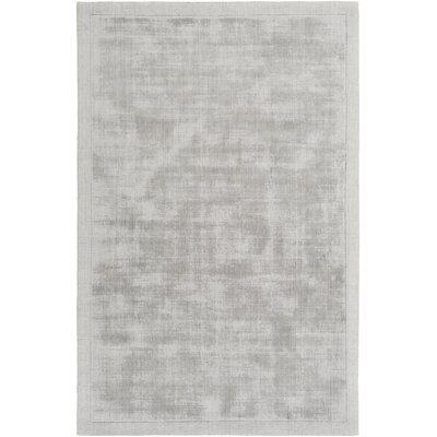 Marcus Abstract Handmade Tufted Light Gray Area Rug Foundstone Rug Size: Rectangle 8' x 10'