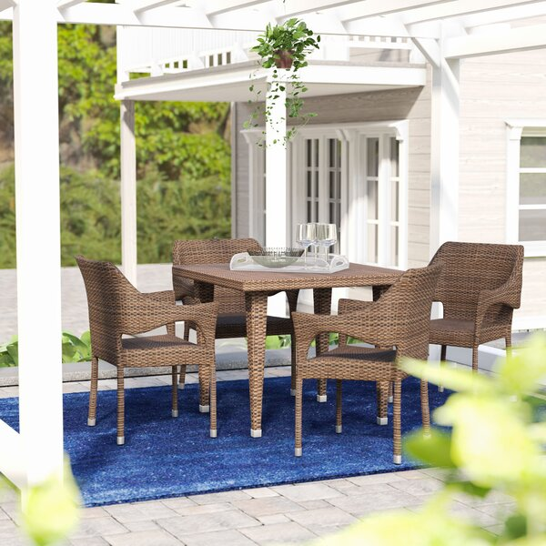 Olevia 5 Piece Dining Set by Brayden Studio
