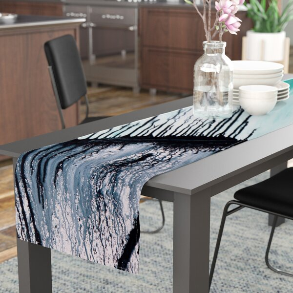 Steve Dix Extractions Table Runner by East Urban Home