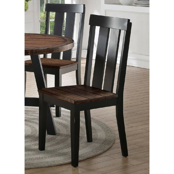 Whittingham Slated Dining Chair (Set of 2) by Millwood Pines