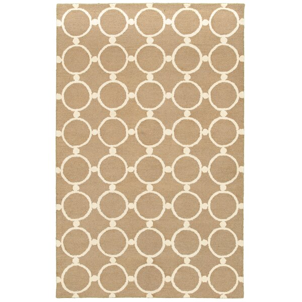 Taganrog Hand-Tufted Natural Area Rug by Meridian Rugmakers