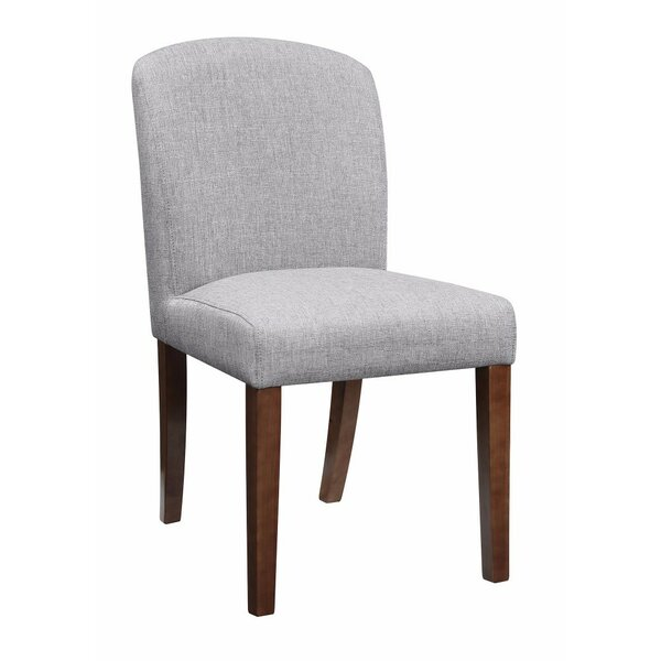 Updegraff Upholstered Dining Chair (Set of 2) by Millwood Pines