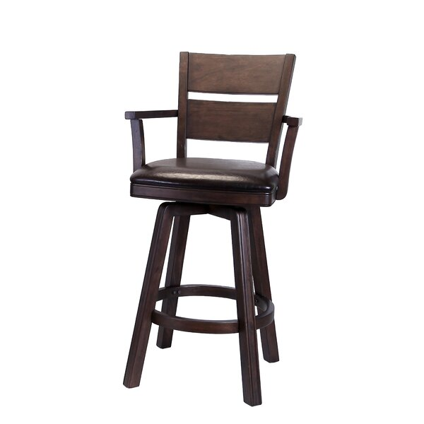 Pompano Swivel Bar Stool (Set of 2) by ECI Furniture