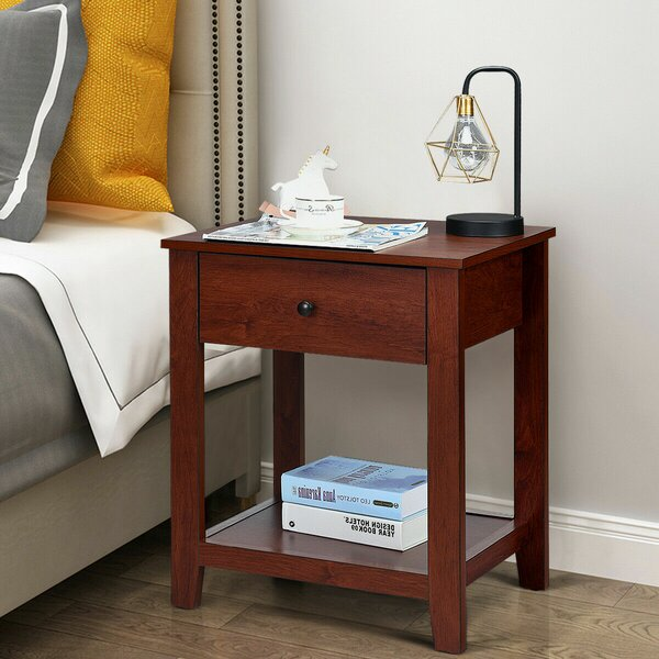 Borton End Table with Storage by Winston Porter Winston Porter
