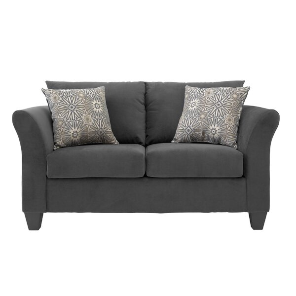 San Francisco Loveseat By Charlton Home