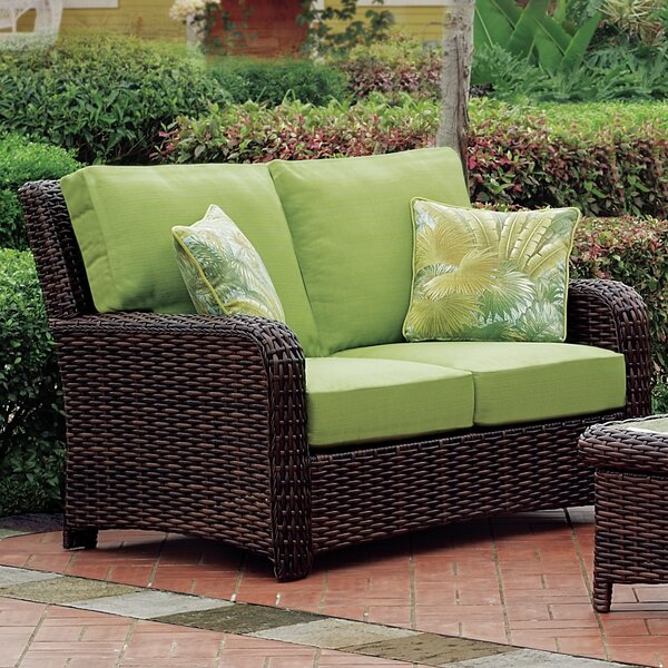 Chorio 9 Piece Deep Sunbrella Seating Group with Cushions by Bay Isle Home