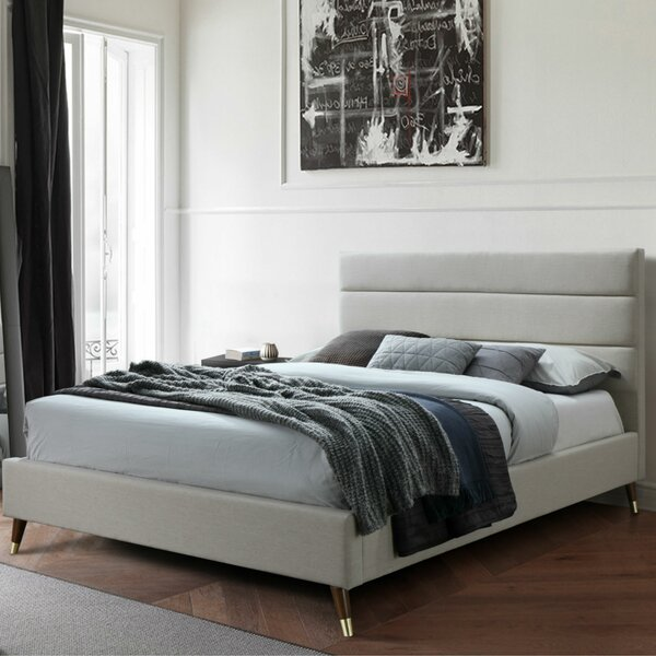 Howley Upholstered Platform Bed by George Oliver
