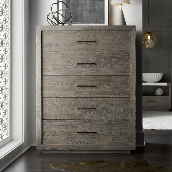 Chavira 5 Drawer Chest by Brayden Studio
