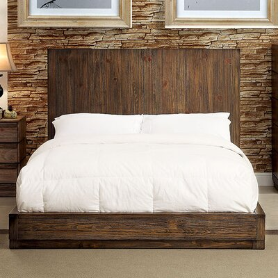 Platform Bed A and J Homes Studio Size: Queen