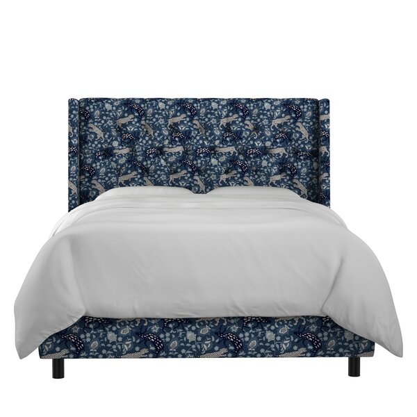 Kenna Upholstered Panel Bed by Mistana