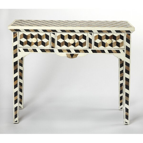 Review Acosta Wood Console Table