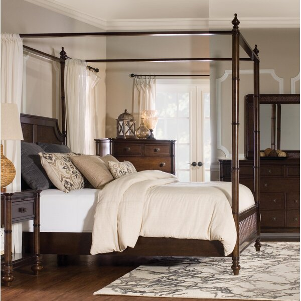 Passages Canopy Bed by Rosalind Wheeler