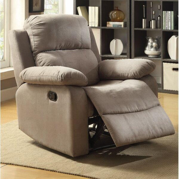 Fort Hamilton Manual Glider Recliner by Winston Porter