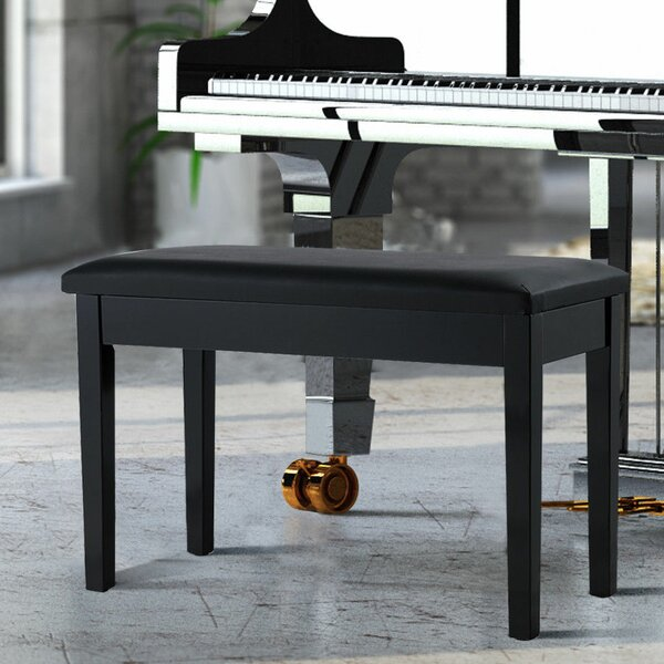 Bannister Piano Upholstered Storage Bench by Ebern Designs