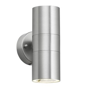 Led outdoor lighting wayfair 2 light outdoor sconce mozeypictures Choice Image