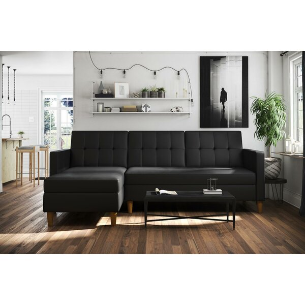 Stigall Reversible Sleeper Sectional by Brayden Studio
