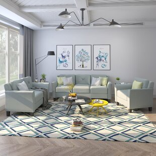 Aghadavy 3 Piece Standard Living Room Set by Red Barrel Studio®